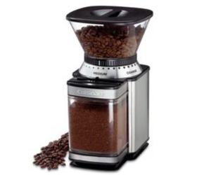 Grinding Coffee Beans with a Grinder