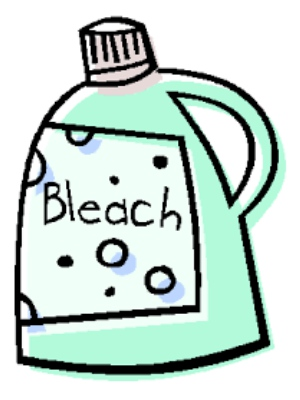 using bleach for cleaning coffee maker