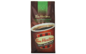 Tim Horton's Decaf Ground Coffee