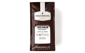 Fresh Roasted Tanzanian Peaberry Coffee - Best Coffee beans