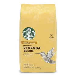 Starbucks Veranda Blend Light Blonde Roast- editor's choice