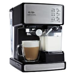 Mr. Coffee Espresso and Cappuccino Maker - Editor's Choice